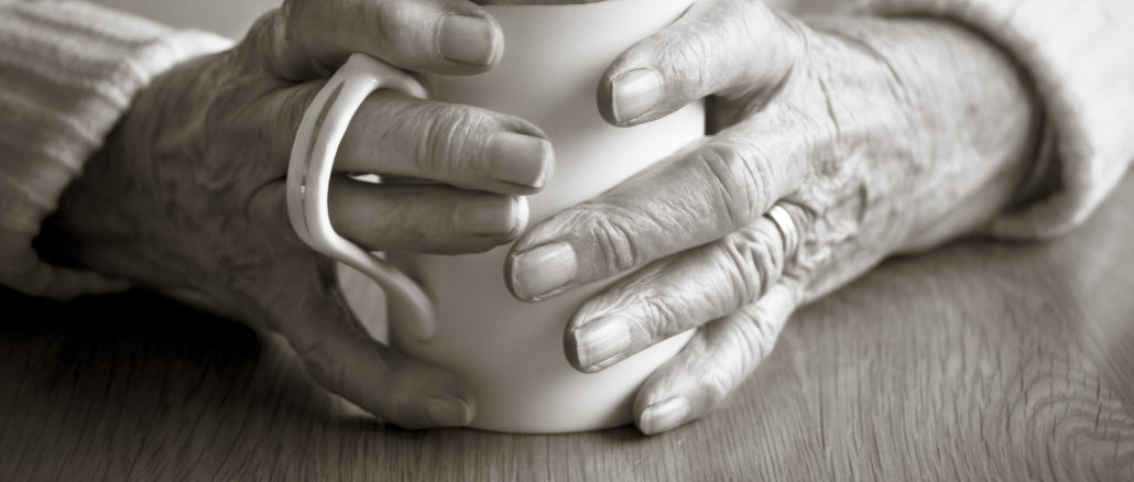 An Old Ladys Hands
